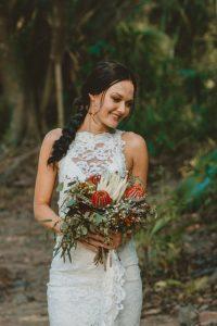 Lisa & Justin- married xx Sol Gardens, Currumbin Valley  6