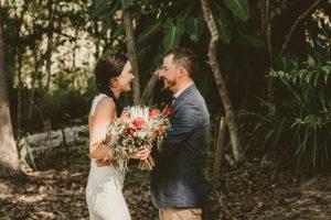 Lisa & Justin- married xx Sol Gardens, Currumbin Valley  12