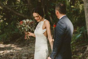 Lisa & Justin- married xx Sol Gardens, Currumbin Valley  13