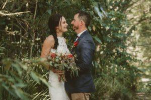 Lisa & Justin- married xx Sol Gardens, Currumbin Valley  21