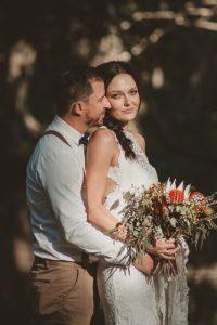 Lisa & Justin- married xx Sol Gardens, Currumbin Valley  26