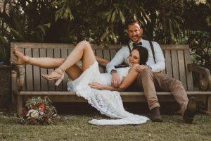 Lisa & Justin- married xx Sol Gardens, Currumbin Valley  31